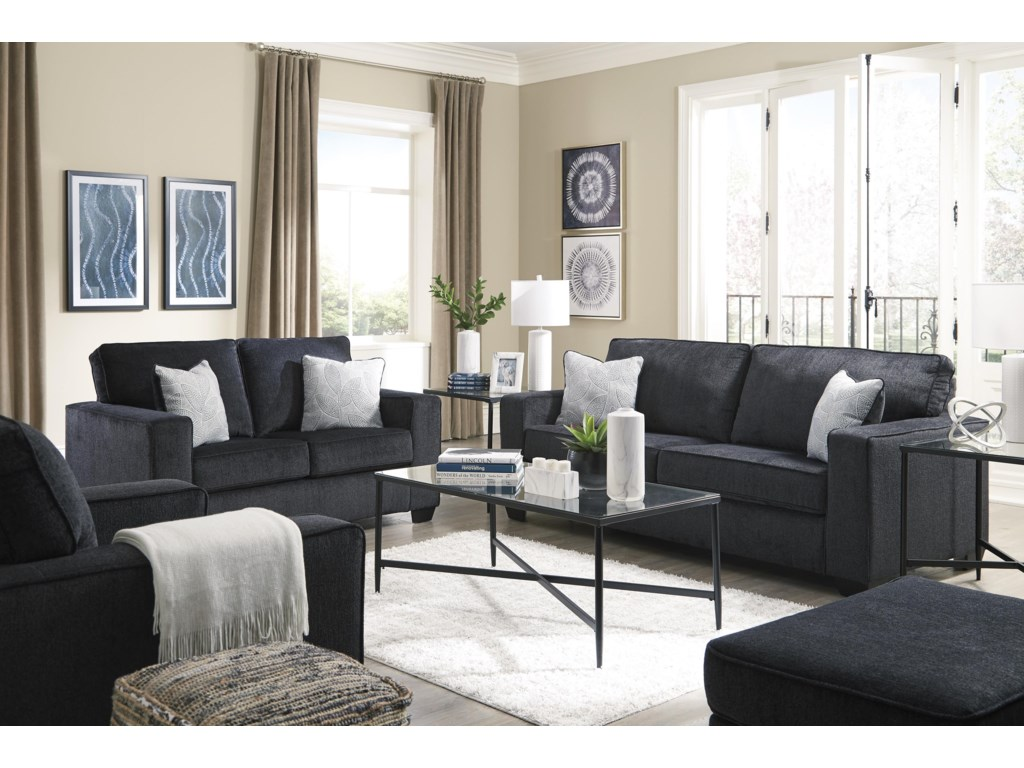 Signature Design by Ashley AltariSofa, Loveseat, Chair and Ottoman Set