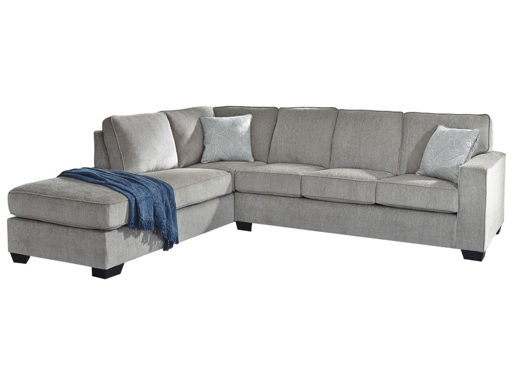 Signature Design by Ashley Altari2 PC Sectional, Chair and Ottoman Set