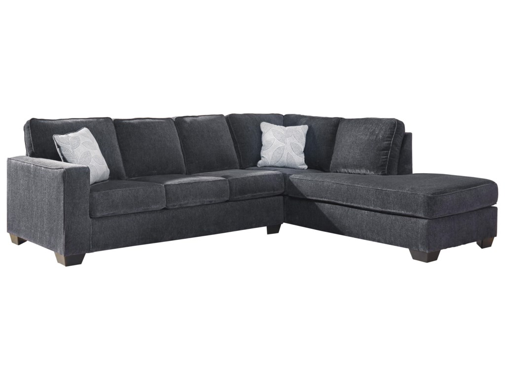 Signature Design by Ashley Altari2 PC Sleeper Sectional and Chair Set