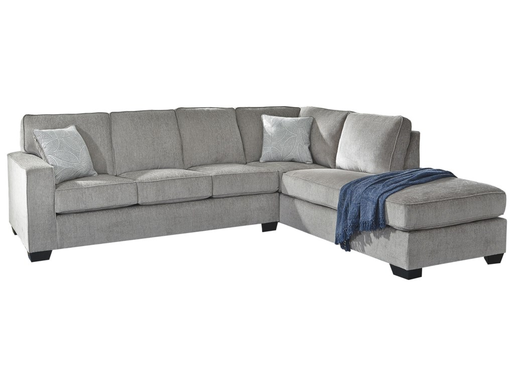 Signature Design by Ashley Altari2 PC Sleeper Sectional, Chair and Ottoman Se