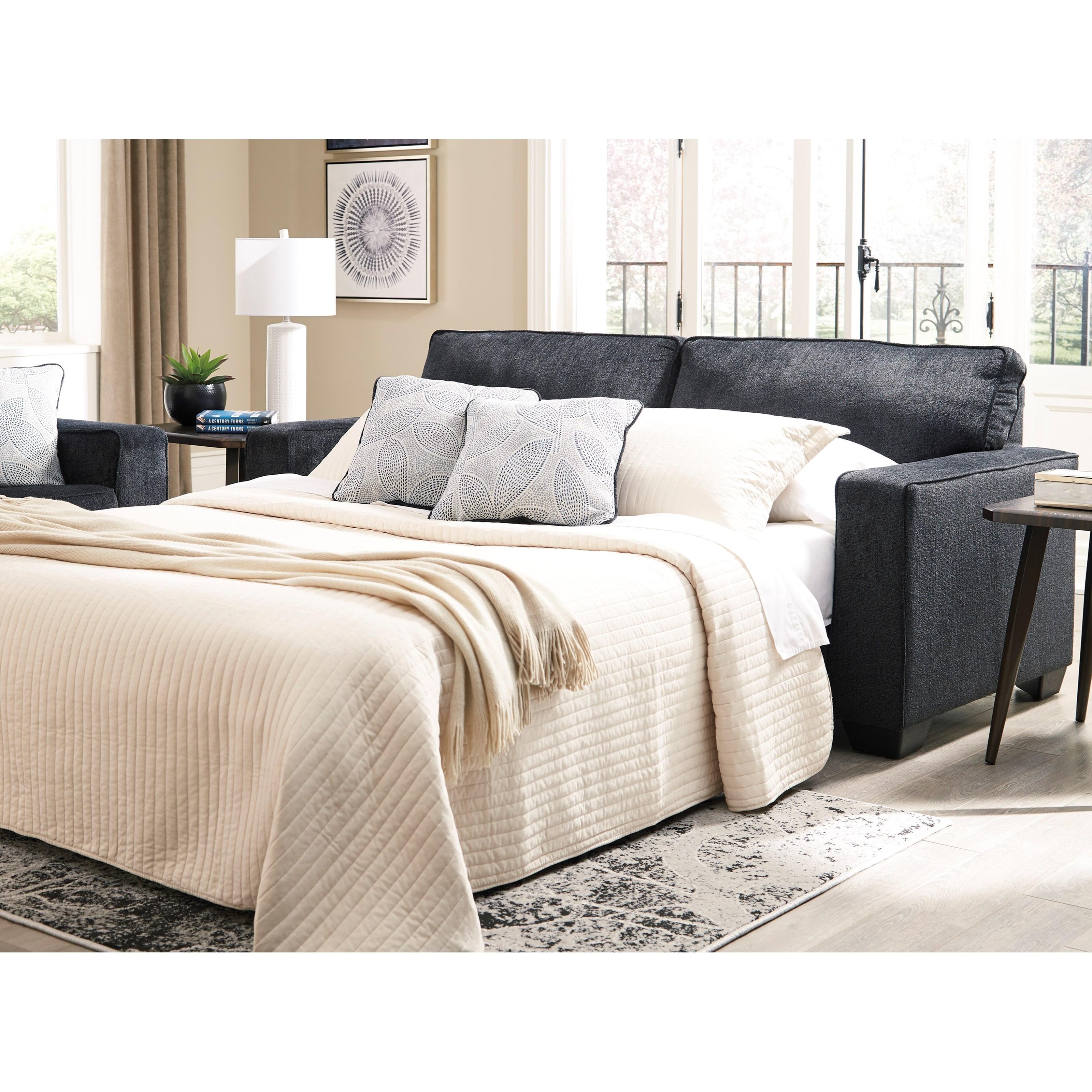 Signature Design AltariQueen Sofa Sleeper ...