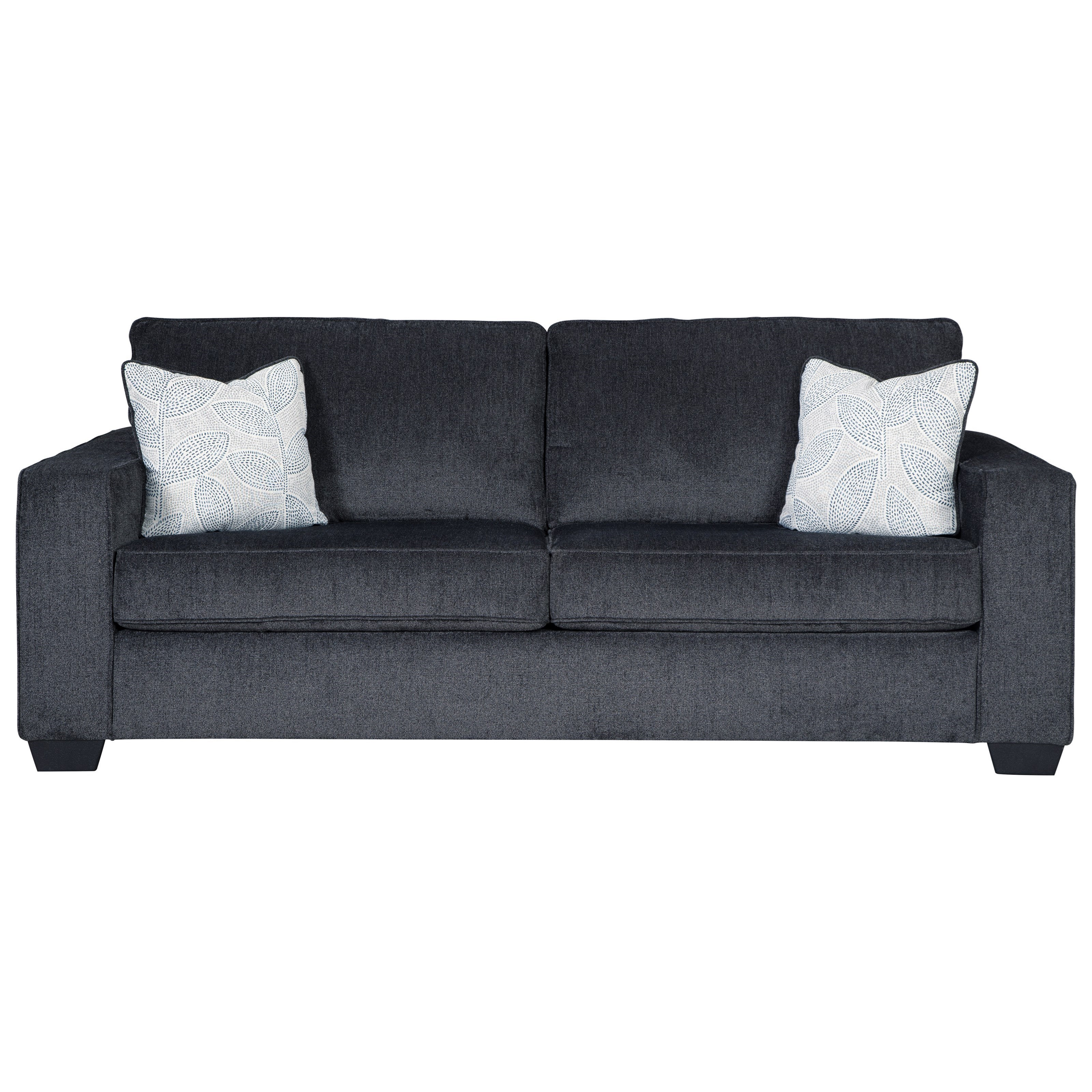 Picture of: Signature Design By Ashley Altari Queen Sofa Sleeper With Memory Foam Mattress Royal Furniture Sleeper Sofas
