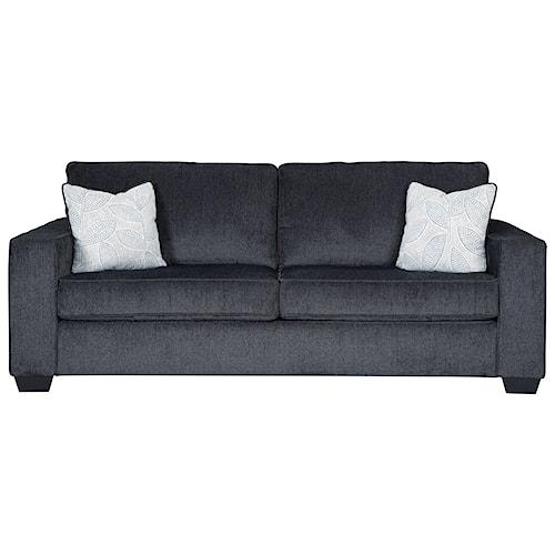 Signature Design by Ashley Altari Queen Sofa Sleeper with Memory Foam Mattress