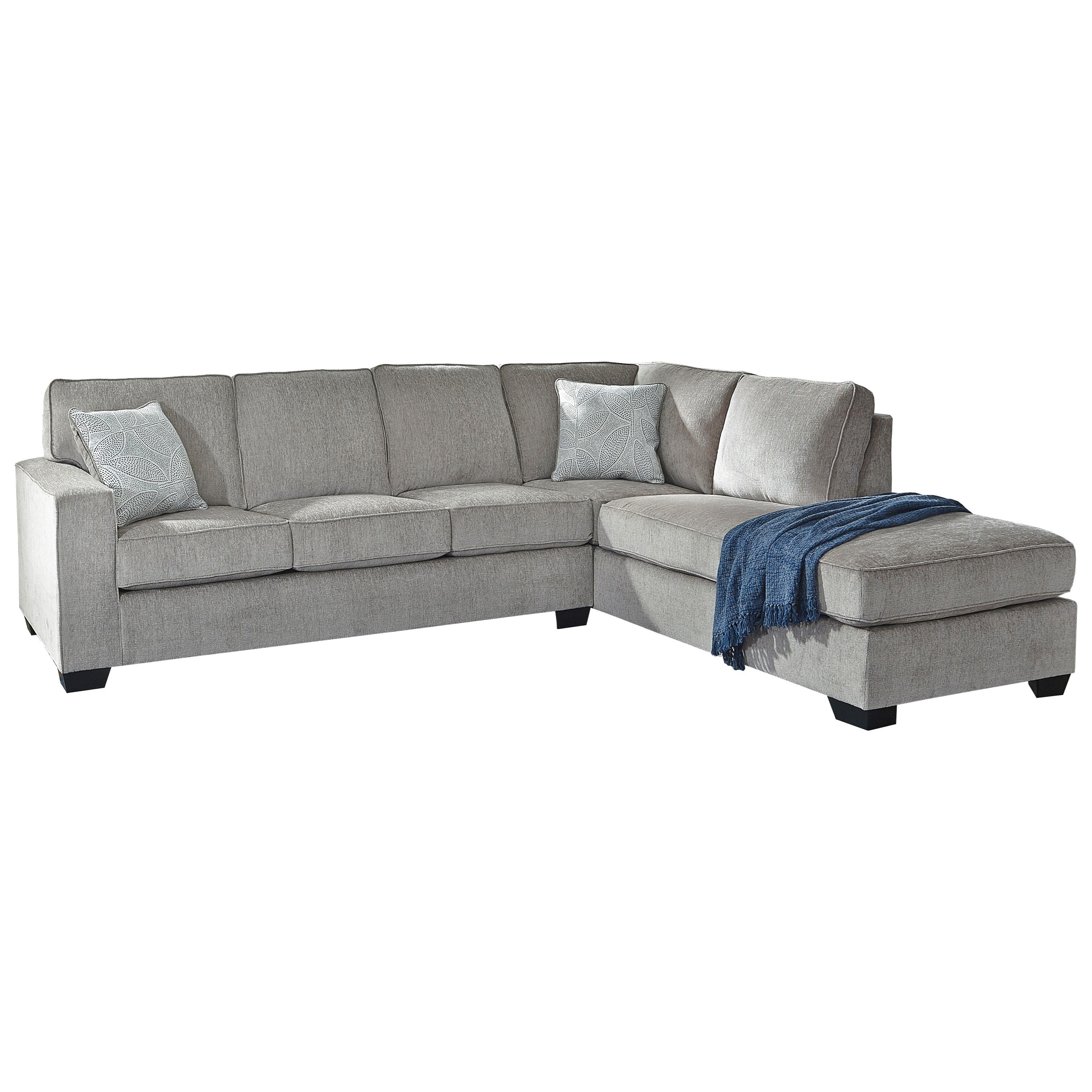 - Vendor 3 Altari Sleeper Sectional With Chaise Becker Furniture