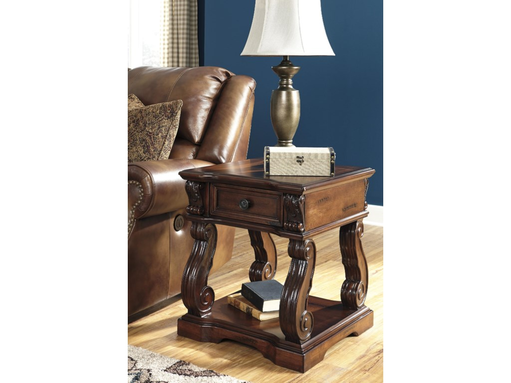 Signature Design by Ashley AlymereSquare End Table