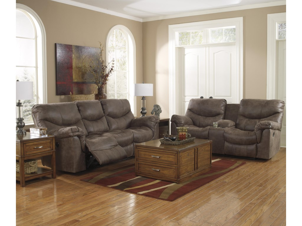 Shown with Coordinating Collection Sofa. Loveseat Shown May Not Represent Exact Features Indicated.
