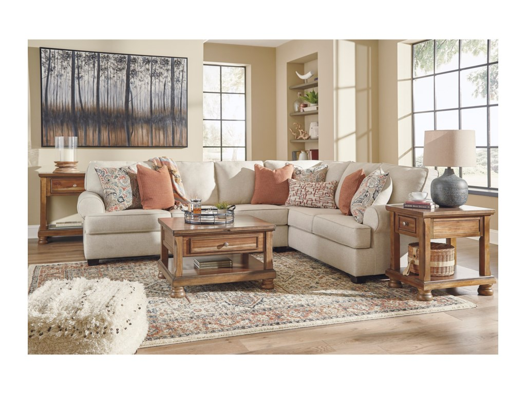 Ashley (Signature Design) Amici3-Piece Sectional