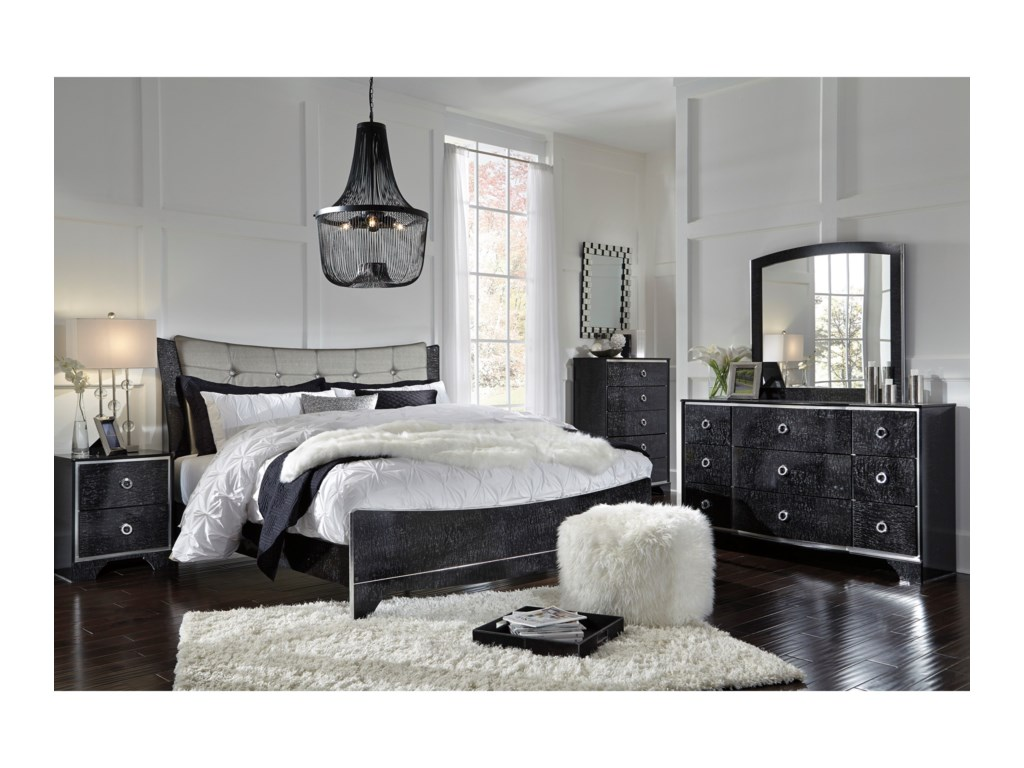 Ashley (Signature Design) AmrothiKing Bedroom Group
