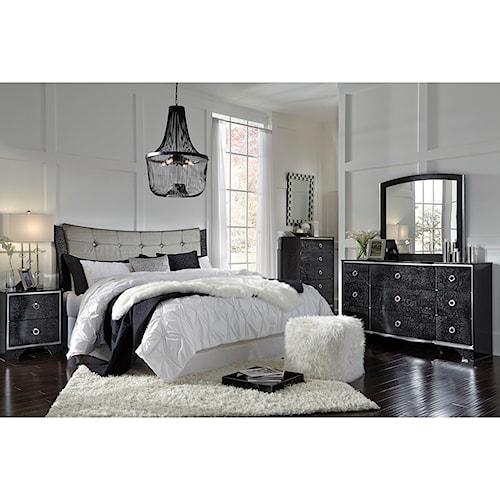 Signature Design by Ashley Amrothi King Bedroom Group