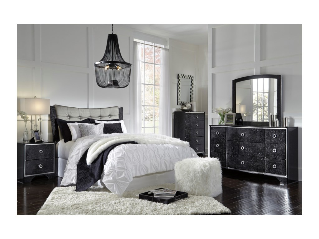 Signature Design by Ashley AmrothiQueen Bedroom Group