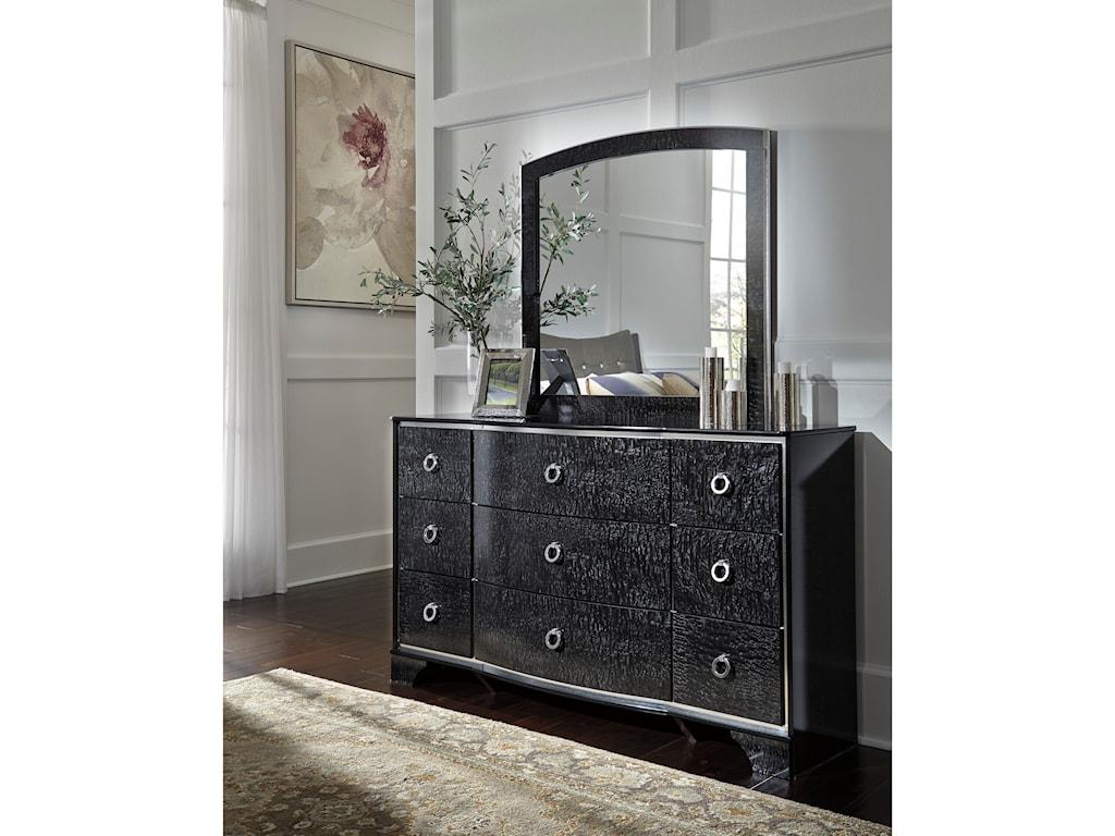 Ashley (Signature Design) AmrothiBedroom Mirror
