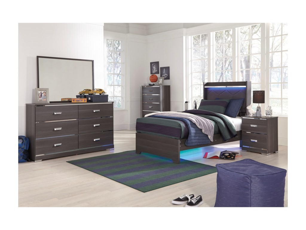 Ashley (Signature Design) AnnikusTwin Bedroom Group