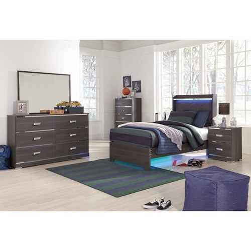 Signature Design by Ashley Annikus Twin Bedroom Group