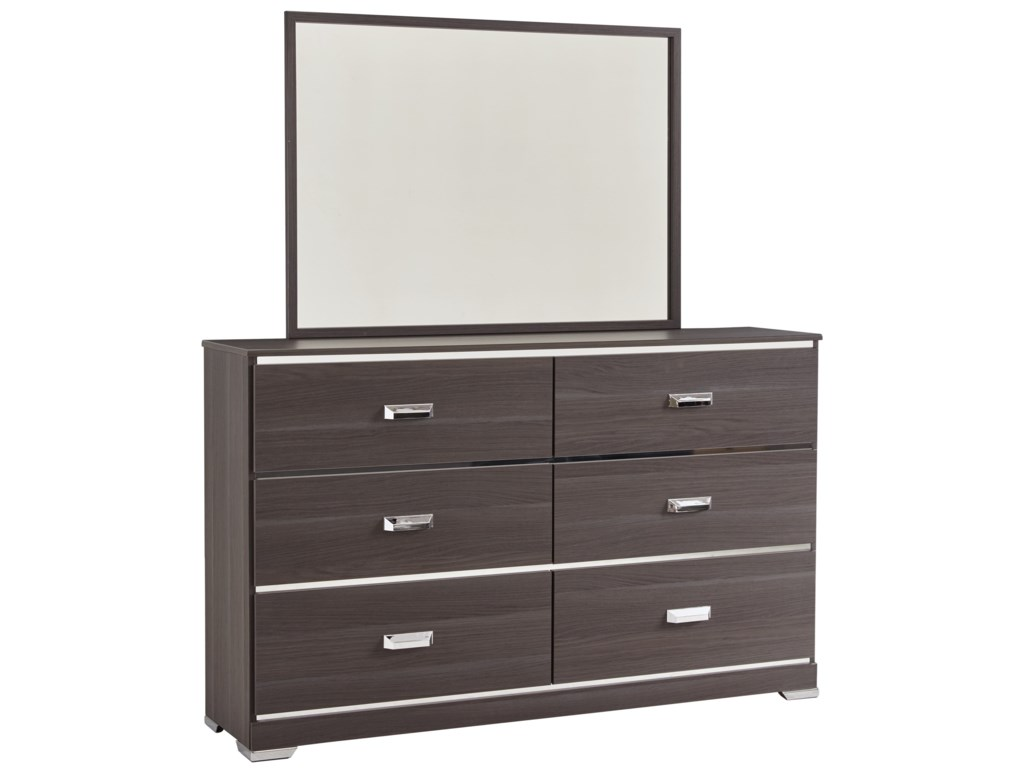 Ashley (Signature Design) AnnikusDresser & Bedroom Mirror
