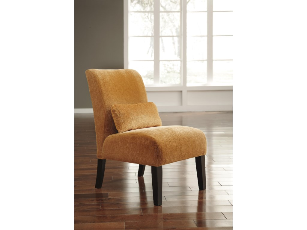 Signature Design by Ashley Annora - OrangeAccent Chair