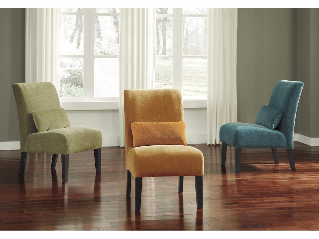 Signature Design by Ashley Annora - OrangeAccent Chair