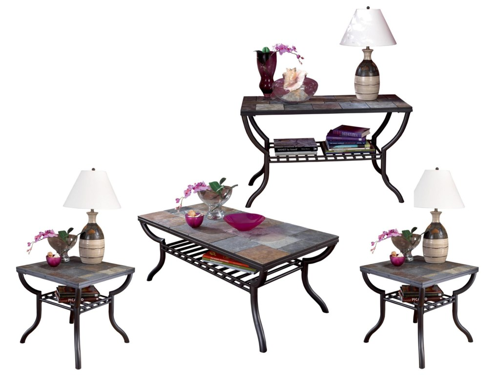 Ashley (Signature Design) Antigo4-Piece Occasional Table Set