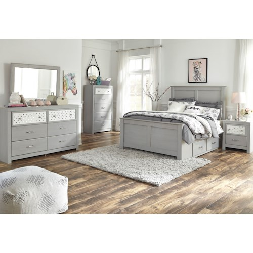Signature Design by Ashley Arcella Full Bedroom Group