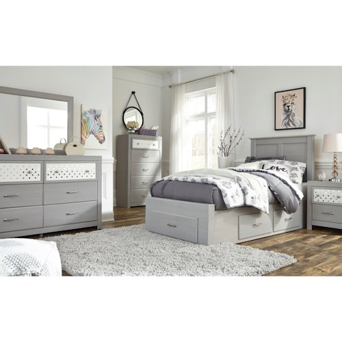 Signature Design by Ashley Arcella Twin Bedroom Group