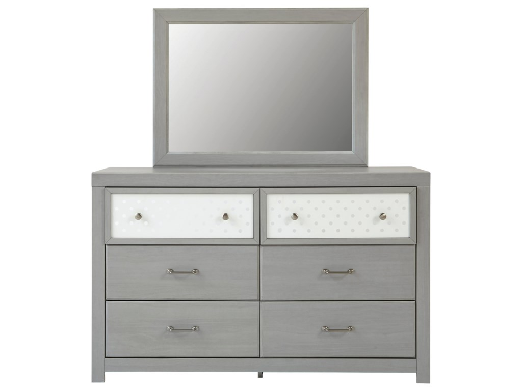 Signature Design by Ashley ArcellaDresser & Bedroom Mirror