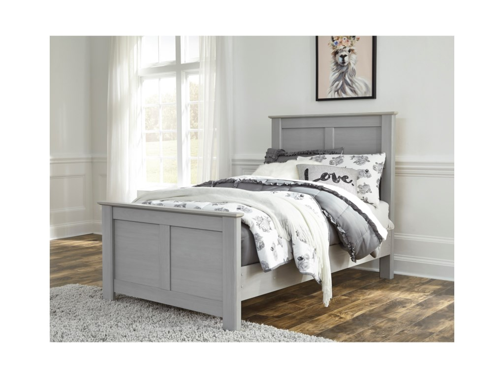 Signature Design by Ashley ArcellaTwin Panel Bed