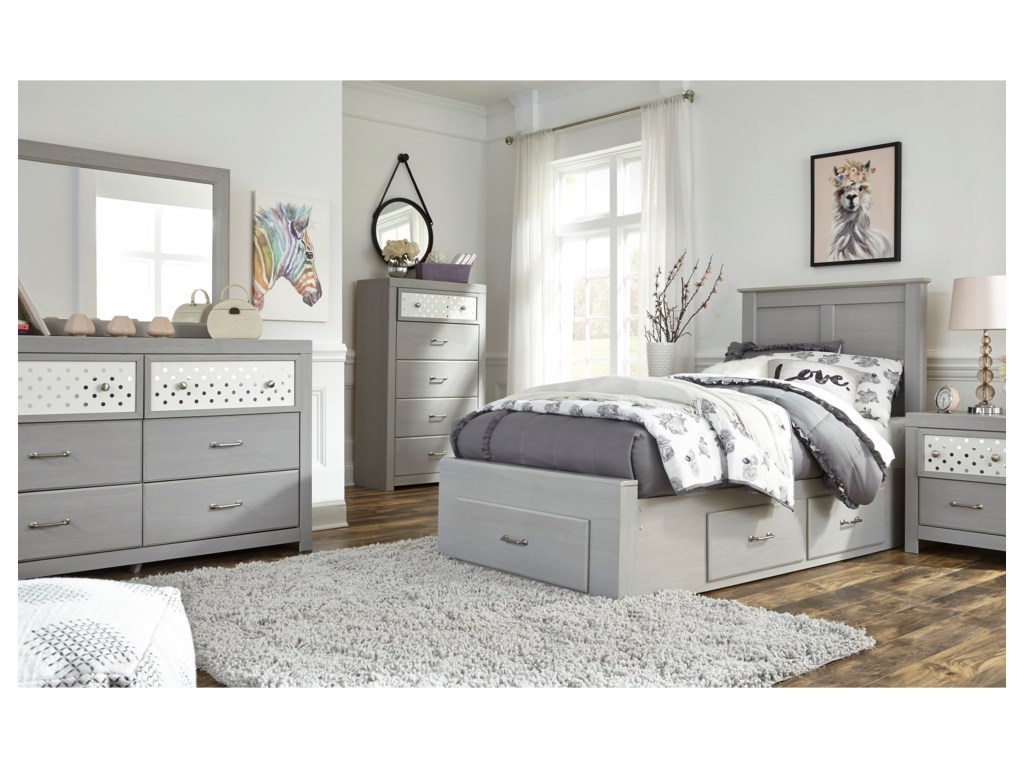 Signature Design by Ashley ArcellaTwin Storage Bed