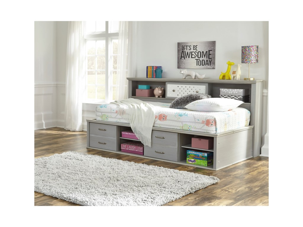 Signature Design by Ashley ArcellaTwin Bookcase Daybed