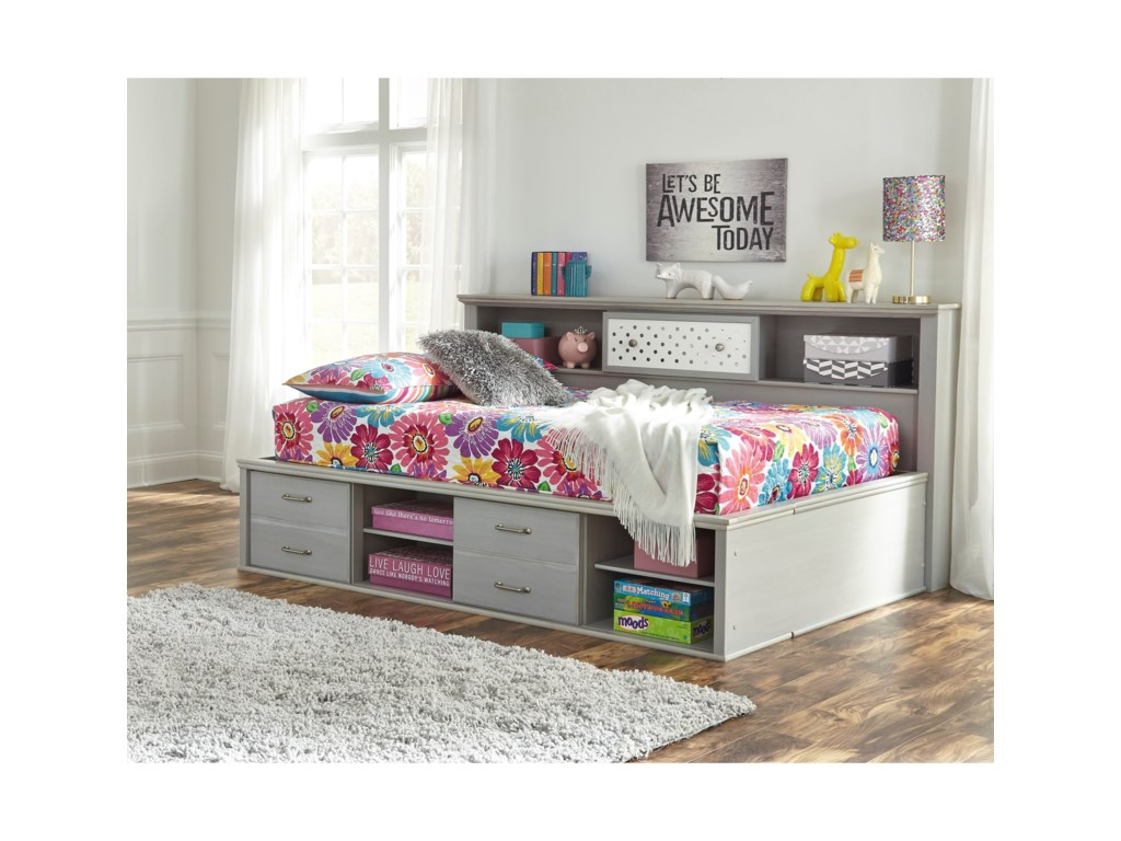 Signature Design by Ashley ArcellaFull Bookcase Daybed