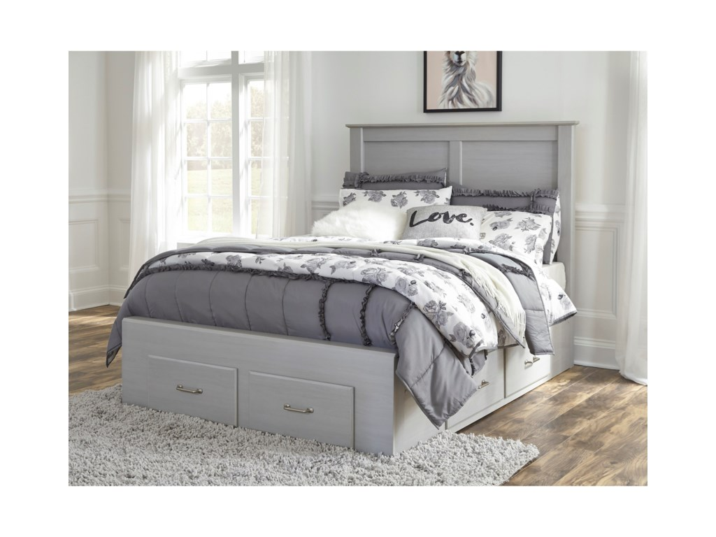 Signature Design by Ashley ArcellaFull Storage Bed
