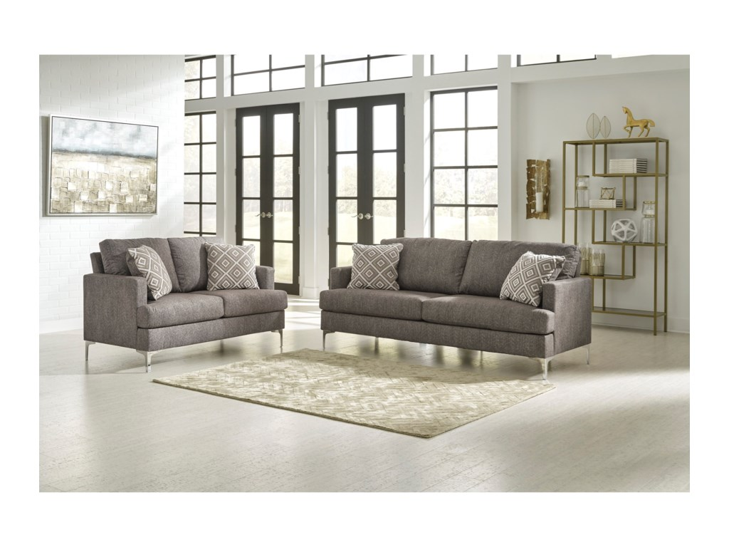 Signature Design by Ashley ArcolaStationary Living Room Group