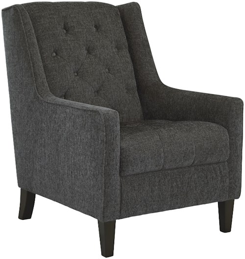 Signature Design by Ashley Ardenboro Accents Accent Chair with Tufted Wing Back and Tufted Seat