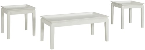 Signature Design by Ashley Ardintown Casual Three Piece Occasional Table Set