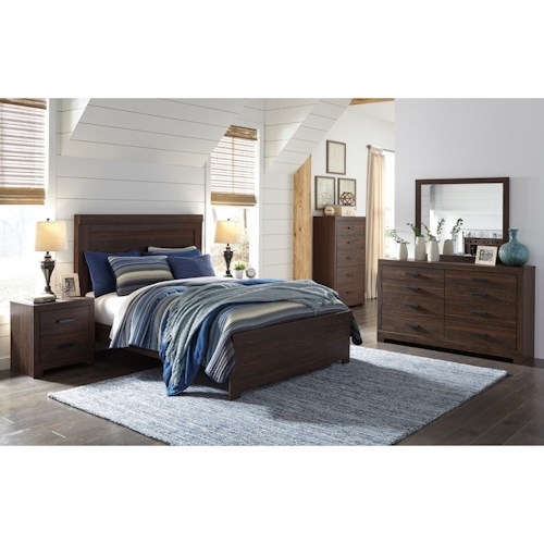 Signature Design by Ashley Arkaline Queen Bedroom Group