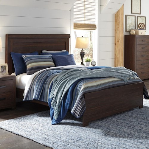 Signature Design by Ashley Arkaline Queen Panel Bed