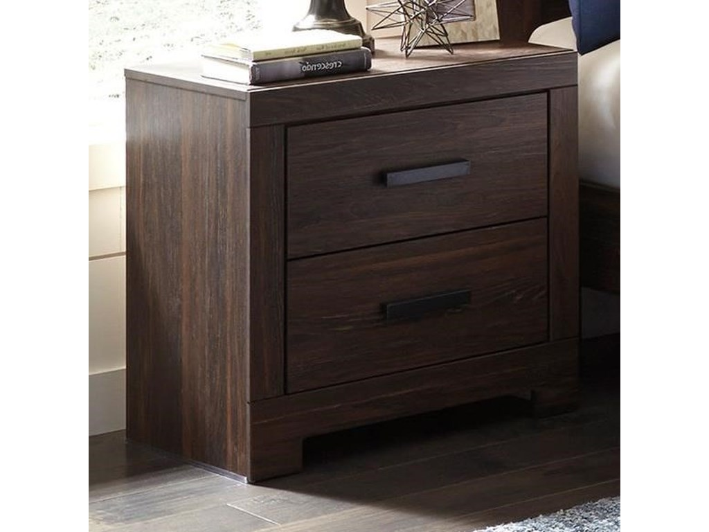 Ashley (Signature Design) ArkalineTwo Drawer Night Stand