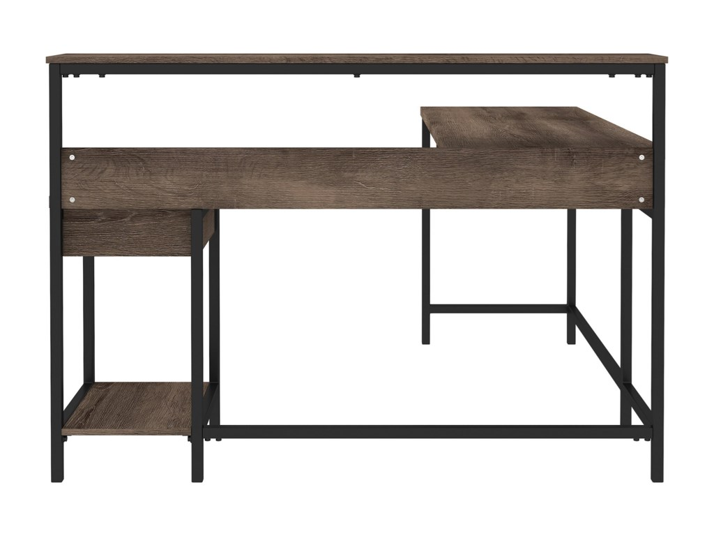Signature Design by Ashley ArlenbryL-Desk with Storage