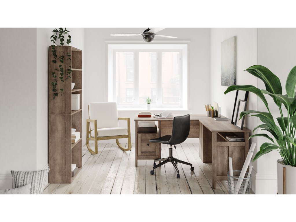 Signature Design by Ashley ArlenbryL-Shape Home Office Desk