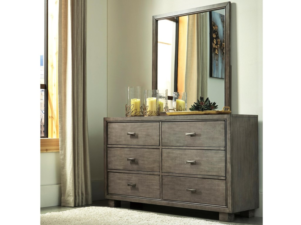 Signature Design by Ashley ArnettDresser and Mirror Set