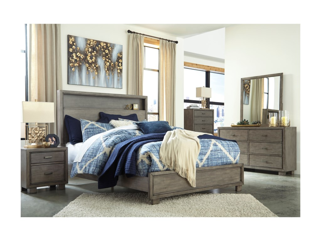 Signature Design by Ashley ArnettKing Bed