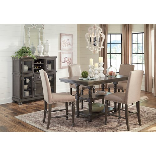 Signature Design by Ashley Audberry Casual Dining Room Group