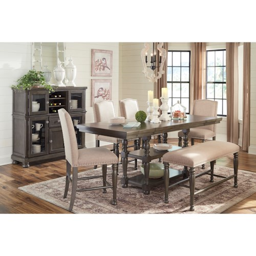 Signature Design by Ashley Audberry Formal Dining Room Group