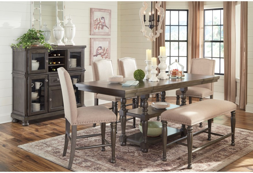 Audberry Formal Dining Room Group