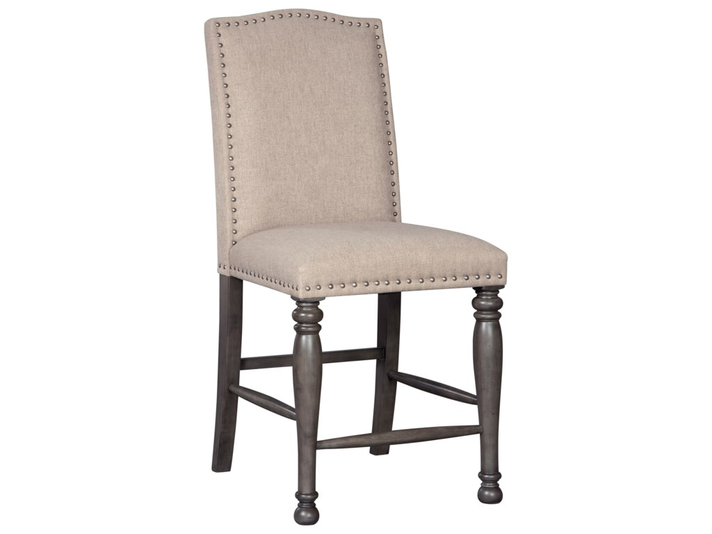 Signature Design by Ashley AudberryUpholstered Barstool
