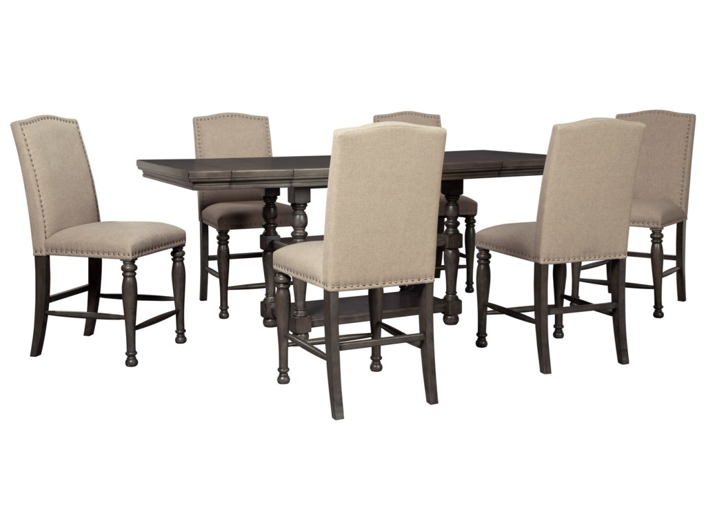 Signature Design by Ashley Audberry7 Piece Dining Table Set
