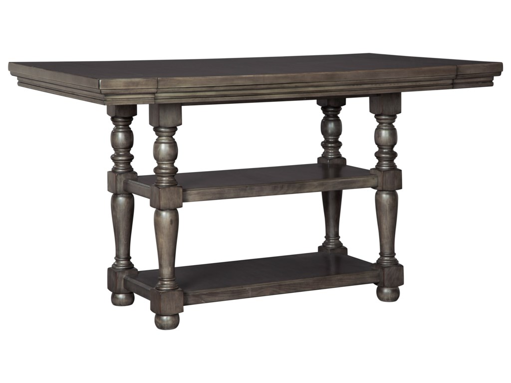 Ashley Signature Design Audberrycounter Height Dining Table