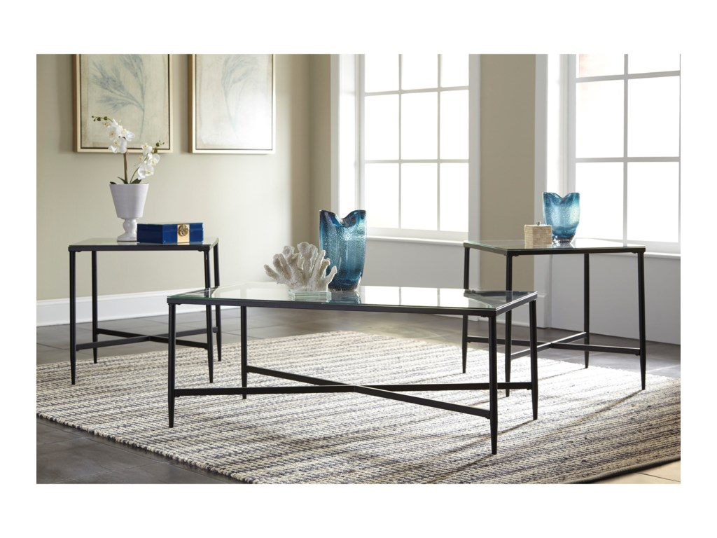 Ashley (Signature Design) AugeronOccasional Table Set
