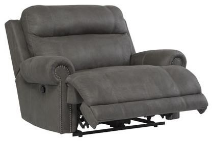 Ashley (Signature Design) Austere - GrayZero Wall Recliner