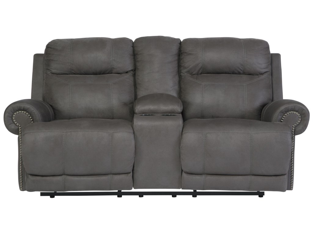 reclining creek sq furniture power morgan jennifer m products ls loveseat gray