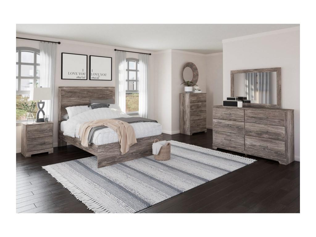 Signature Design by Ashley RalinskiFull Panel Bed
