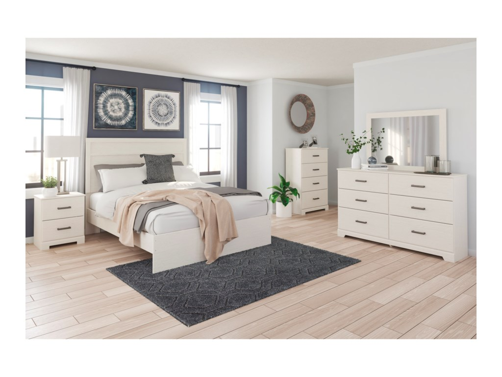 Signature Design by Ashley StelsieQueen Panel Bed